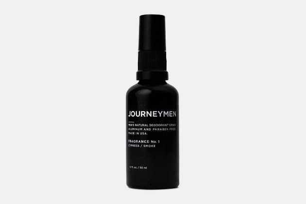 Journeymen Natural Deodorant Spray