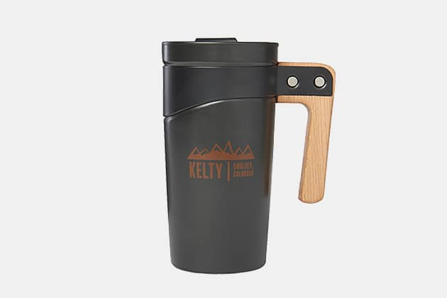 Kelty Built Mountains Coffee Mug