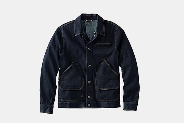 L.L. Bean Signature Denim Field Coat