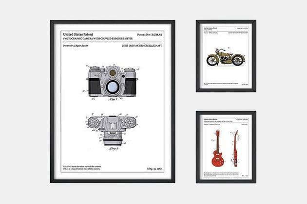 L'Affiche Technique Patent Posters