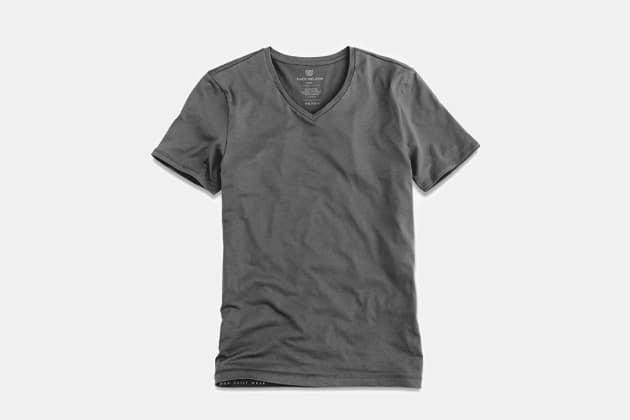 Mack Weldon Silver V-Neck Undershirt