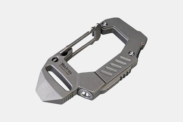 MecArmy FL10 Titanium EDC Carabiner