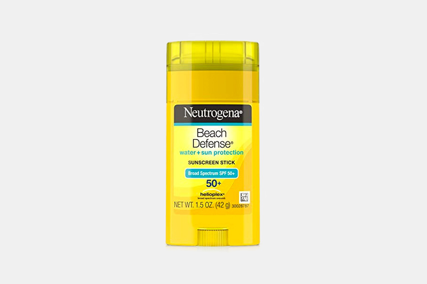 Neutrogena Beach Defense Water + Sun Protection Sunscreen Stick SPF 50+