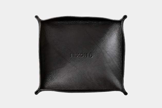 Nixon Leather Valet Tray