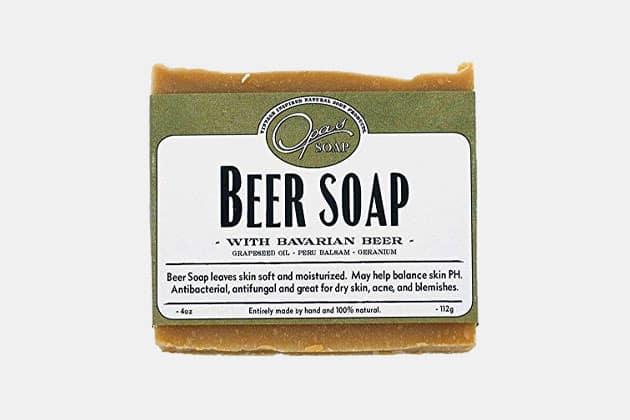 Opas Dark Ale Beer Soap