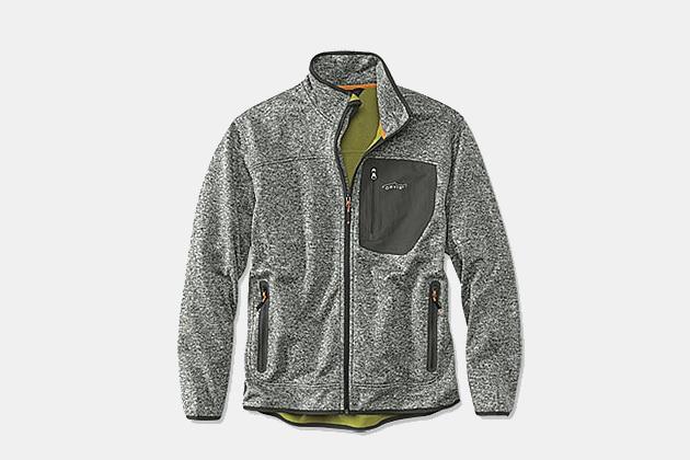 Orvis Windproof Sweater Fleece Jacket