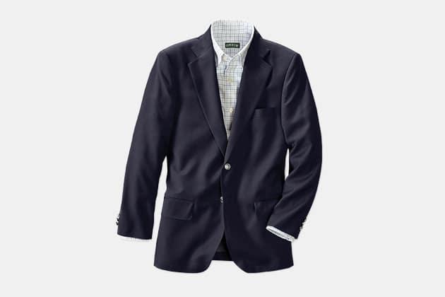 Orvis Wool Travel Blazer