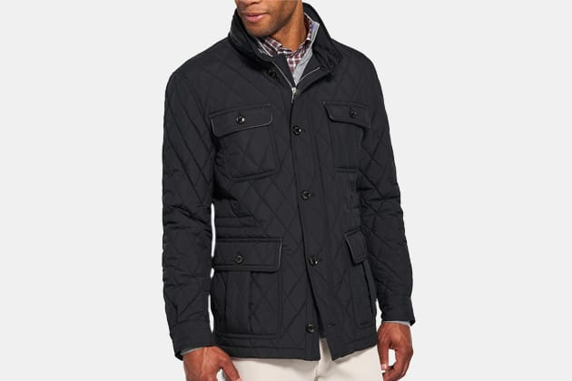Peter Millar All-Weather Quilted Field Jacket