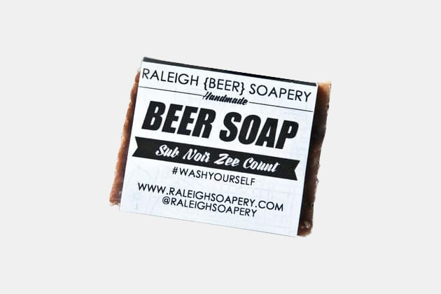 Raleigh Beer Soap