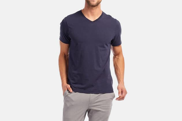 Rhone Element V Neck T-Shirt