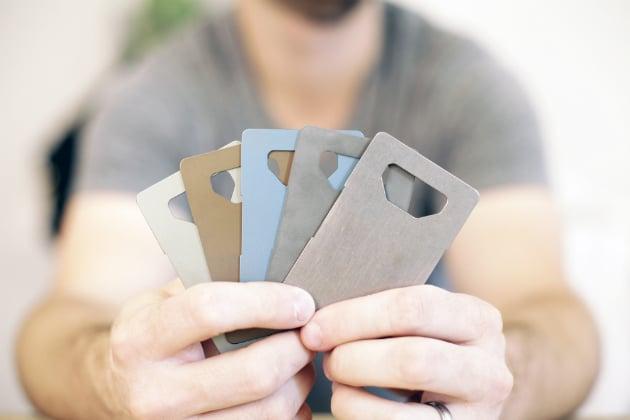 Spine Titanium Minimalist Wallet