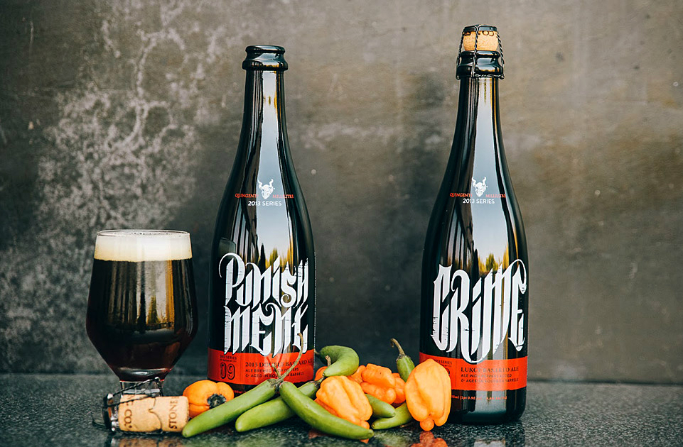 Stone Brewing Crime and Punishment Beer