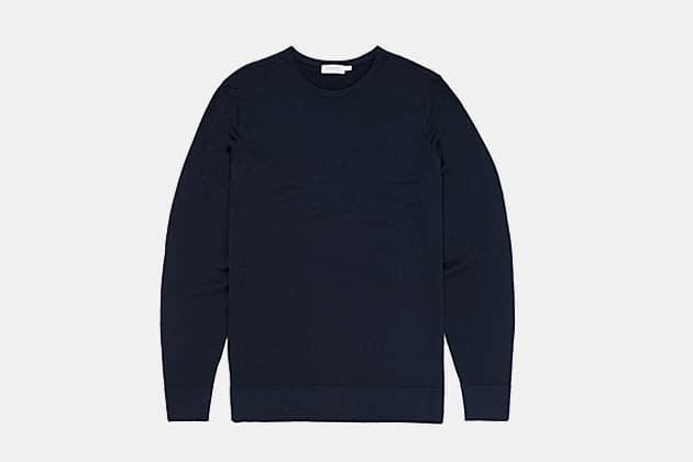 Sunspel Merino Fine Wool Sweater
