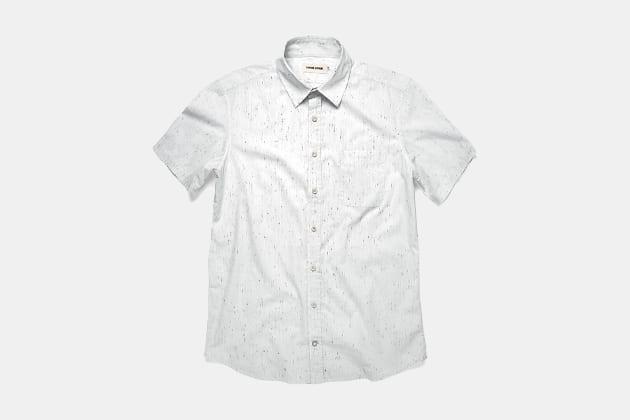 Taylor Stitch Short Sleeve California Shirt