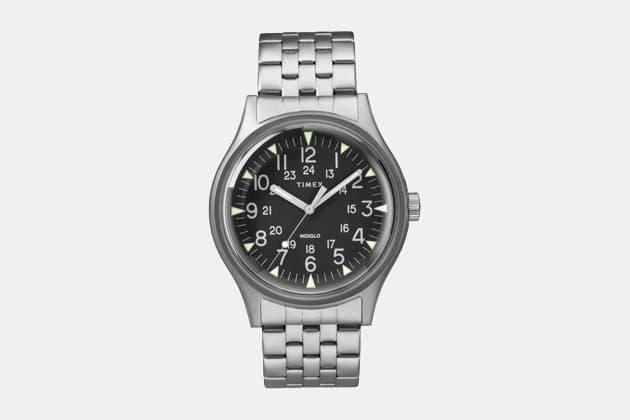 Timex x Todd Snyder MK1 Steel Watch