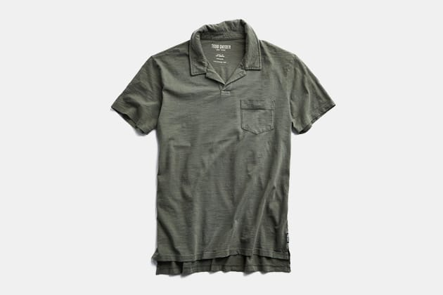 Todd Snyder Made in LA Montauk Polo