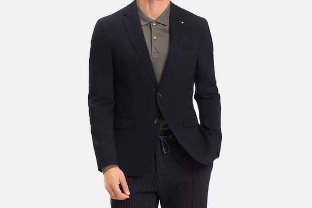 Tommy Hilfiger Stretch Wool Extra Slim Fit Blazer