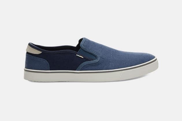 Toms Heritage Canvas Mens Baja Slip-On Shoes