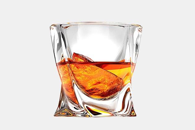Twist Whiskey Glass