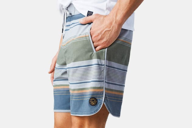 United By Blue Seabed Scallop Board Shorts