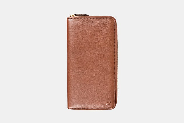 Will Leather Goods Classic Travel Wallet