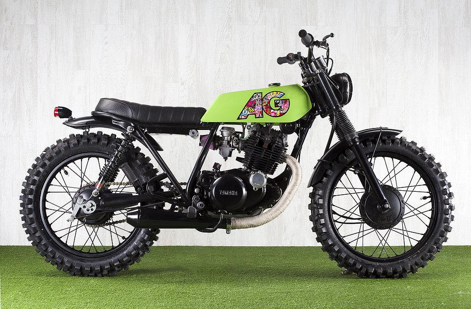Yamaha SR250 AG Hoc Motorcycle