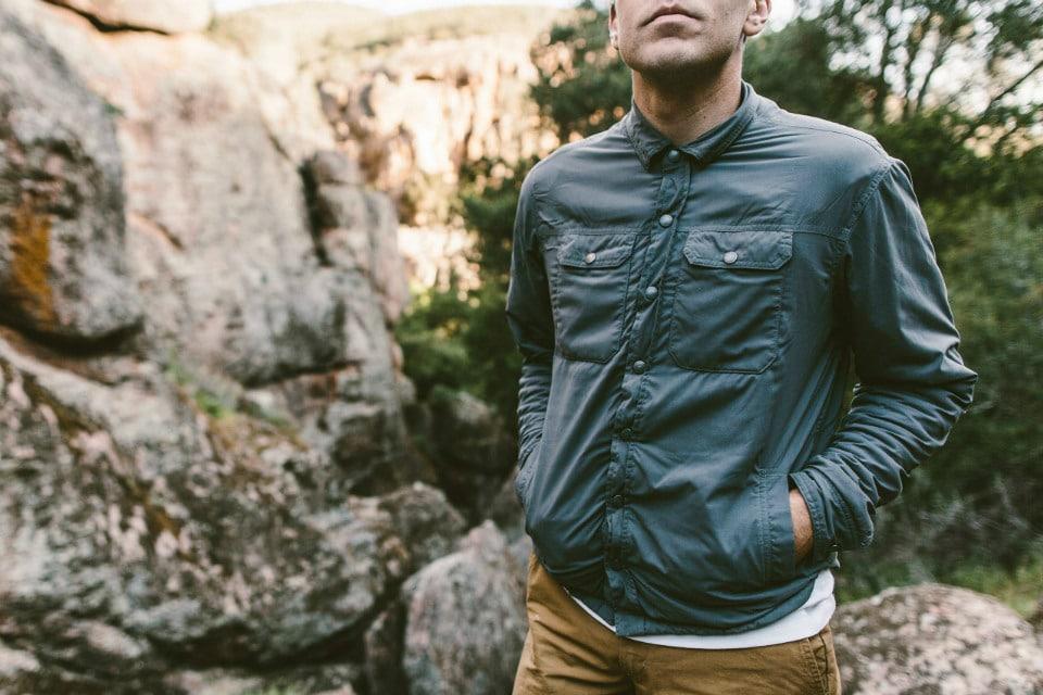 Taylor Stitch Albion Jacket Charcoal