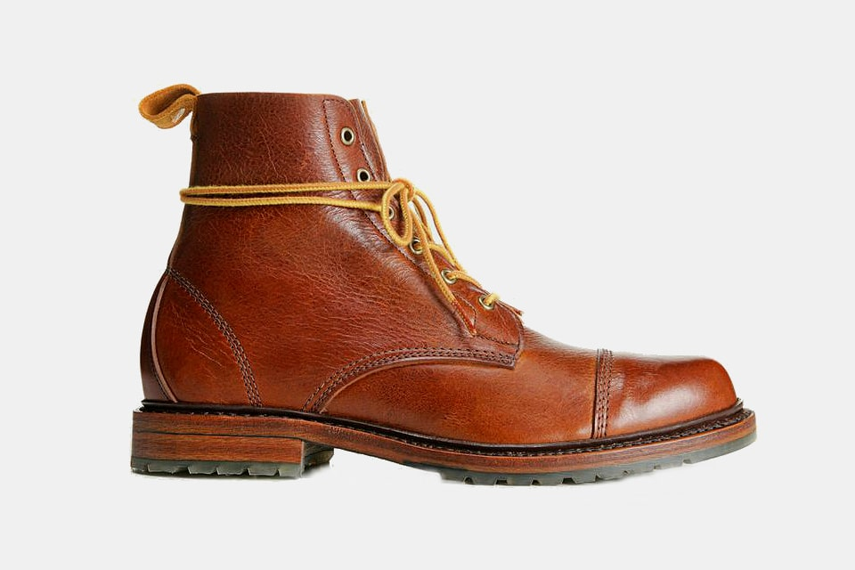 Allen Edmonds Normandy Cap-Toe Boots
