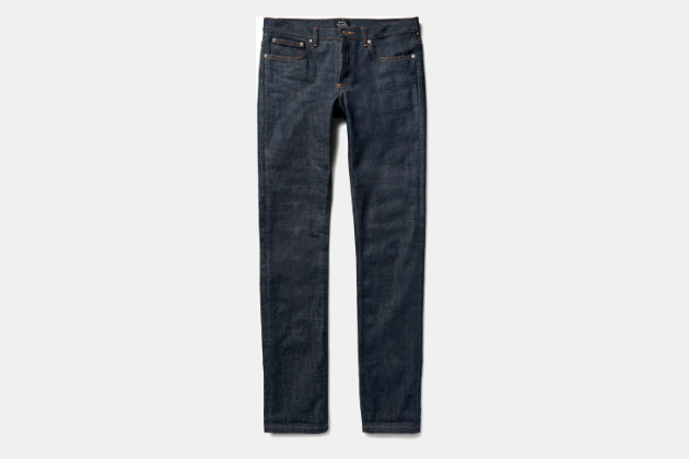 APC Slim-Fit Dry Selvedge Jeans
