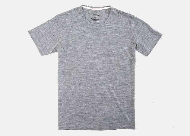 Apolis Transit Issue Merino T-Shirt in Heather