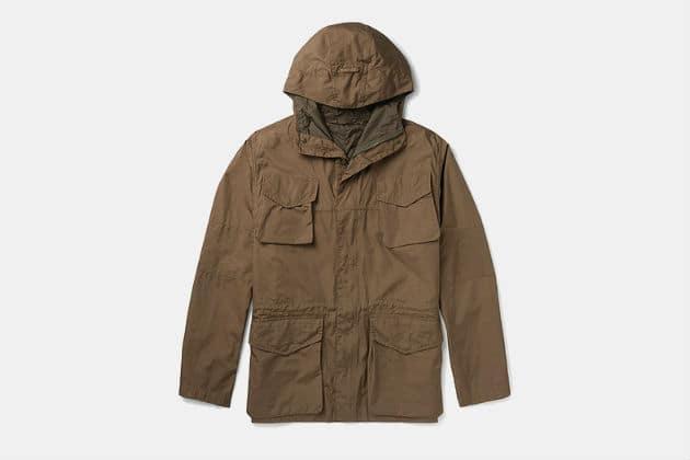 Aspesi Cotton Hooded Field Jacket