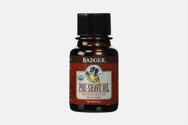 Badger Pre-Shave Oil