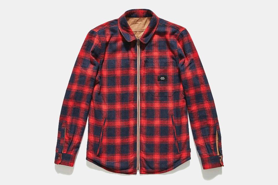 Banks Reversible Lumber Jacket