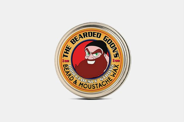 The Bearded Goon's Ridiculously Strong Beard and Mustache Wax
