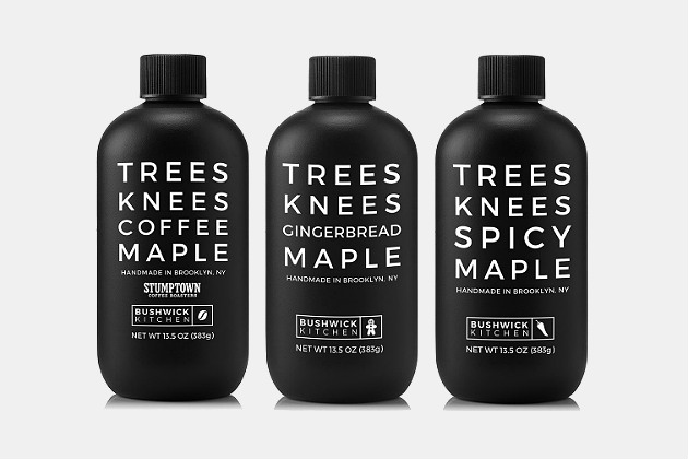Bushwick Kitchen Trees Knees Maple Syrup Gift Set