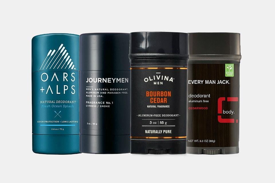 Best Men's Natural Deodorants