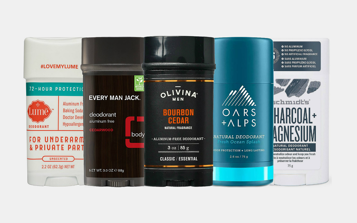 Best All Natural Deodorants For Men