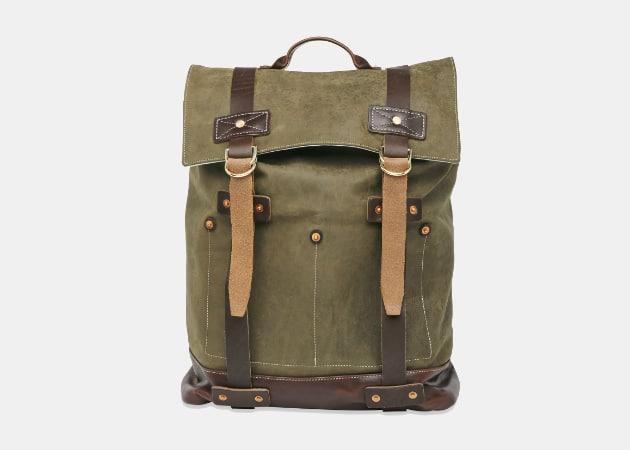 Billy Reid Olive Backpack