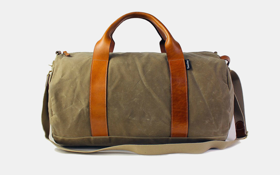 Boarding Pass NYC Voyager Waxed Weekender