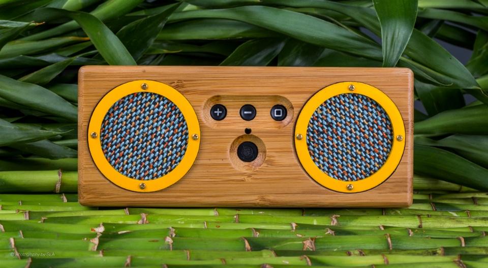 Bongo Bluetooth Speaker Bamboo