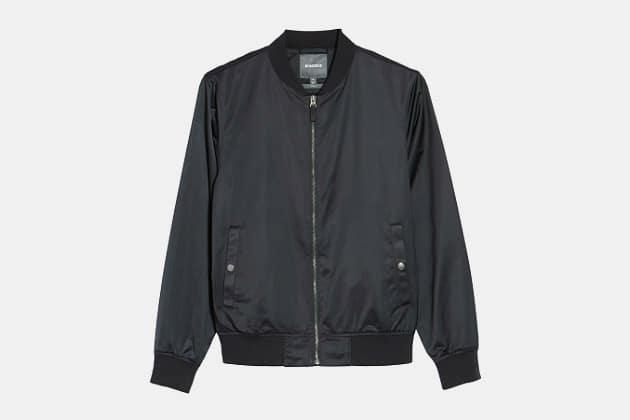 Bonobos Moto Bomber Jacket