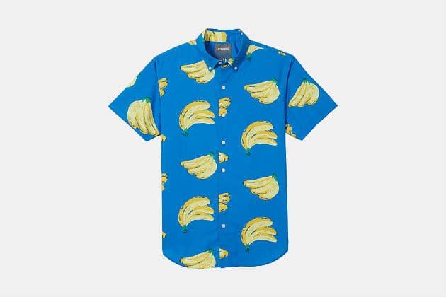 Bonobos Riviera Short Sleeve Hawaiian Shirt