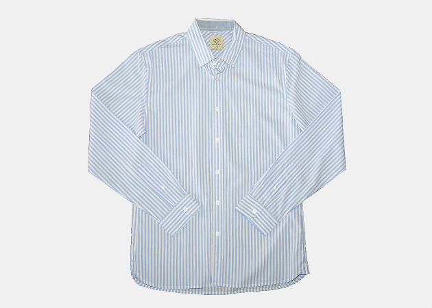 Bourbon and Blue Collins Shirt