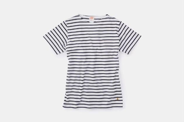 Armor Lux Short-Sleeve Breton Shirt