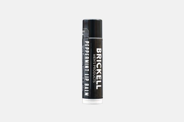 Brickell No shine Lip Balm For Men