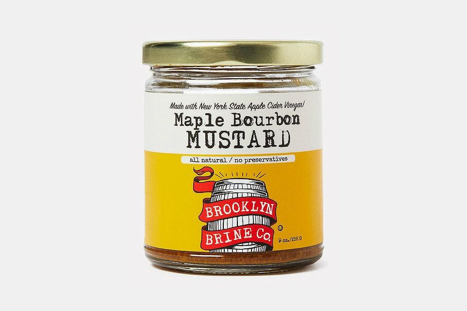 Brooklyn Brine Maple Bourbon Mustard