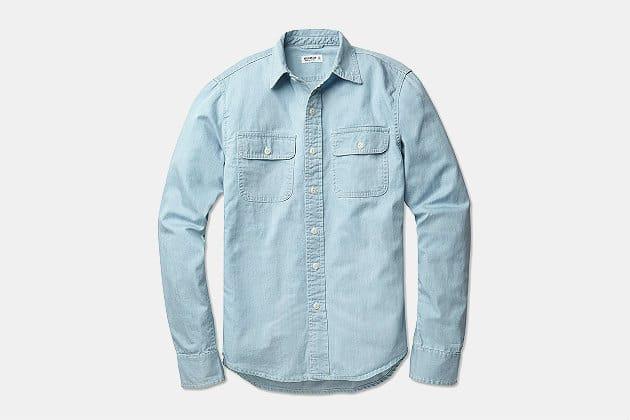 Buck Mason Chambray Work Shirt