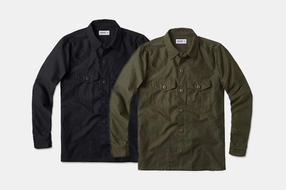 Buck Mason Military Overshirt