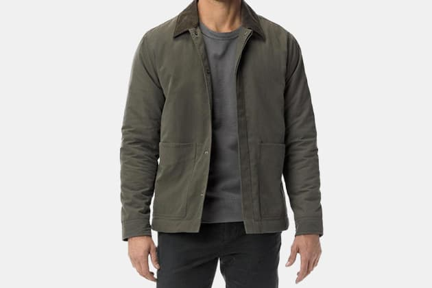 Buck Mason Quilted League Jacket