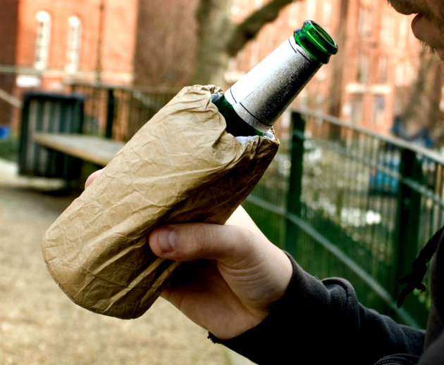 Brown Bag Drink Cooler